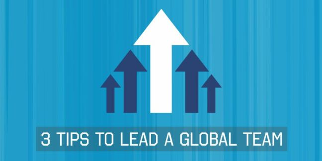 3 tips to lead a global team